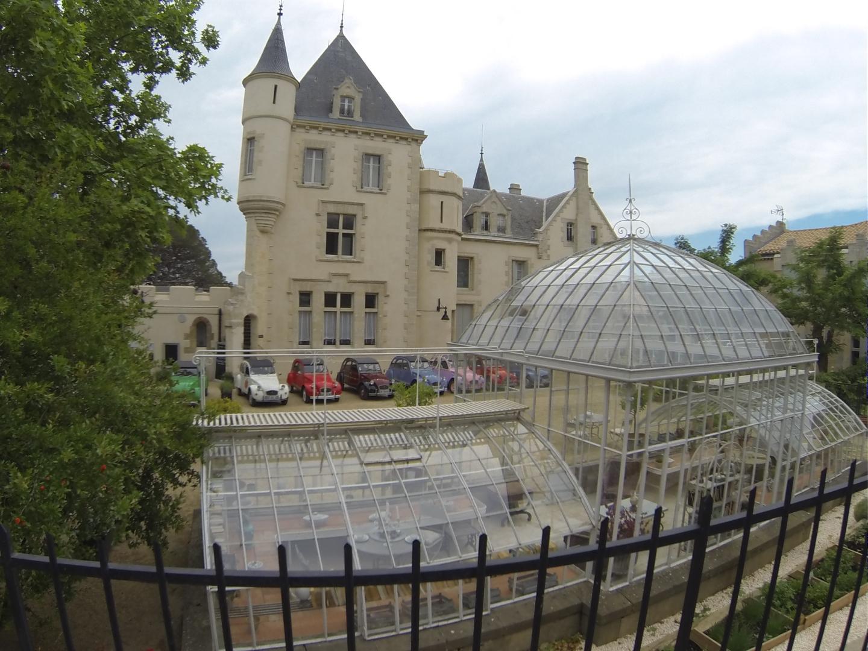 Magnifique vue sur le Château Les Carrasses