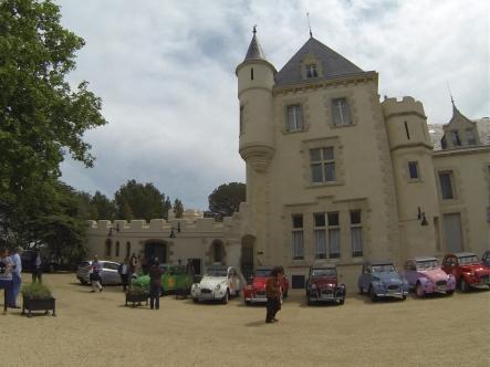 Vin4 heures tour au château Les Carrasses