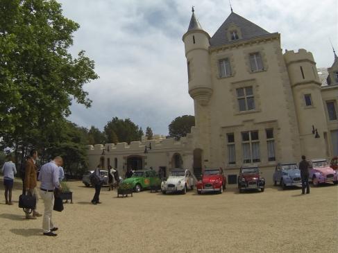 Tour di vin au château Les Carrasses