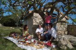 Moment gourmand de convivialité Photo Serge Briez Cap Médiations pour Vin4 heures tour