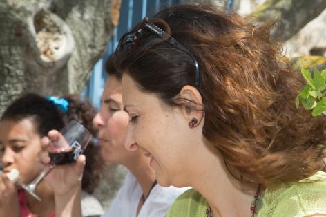 Di Vin&gusto avec Isabelle Castro Photo Serge Briez Cap Médiations pour Vin4 heures tour