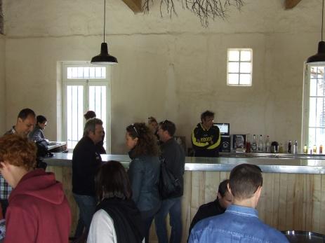 Dégustation des vins aux Salins de La Palme