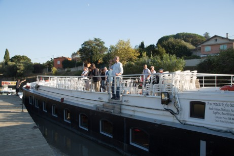 Vin4 heures tour en croisières sur le canal du midi avec les bateaux du midi et vent du sud Photo SergeBriez Cap Médiations