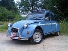 2CV Gendarmerie