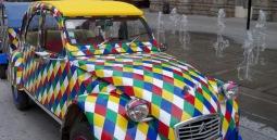 2CV Arlequin Carnaval