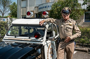 2CV Police californienne