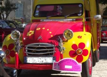 AILE 2CV HIPPIES