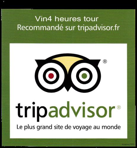 Recommanded on Tripadvisor