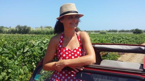 Isabelle Castro créatrice Vin4 heures tour