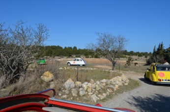 Tour Vigneron en 2CV