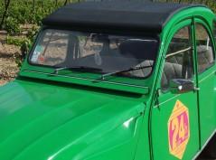 Vignette auto 2CV 76 Vin4 heures tour
